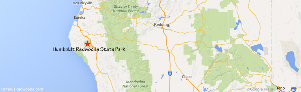 humboldt redwoods state park map pdf